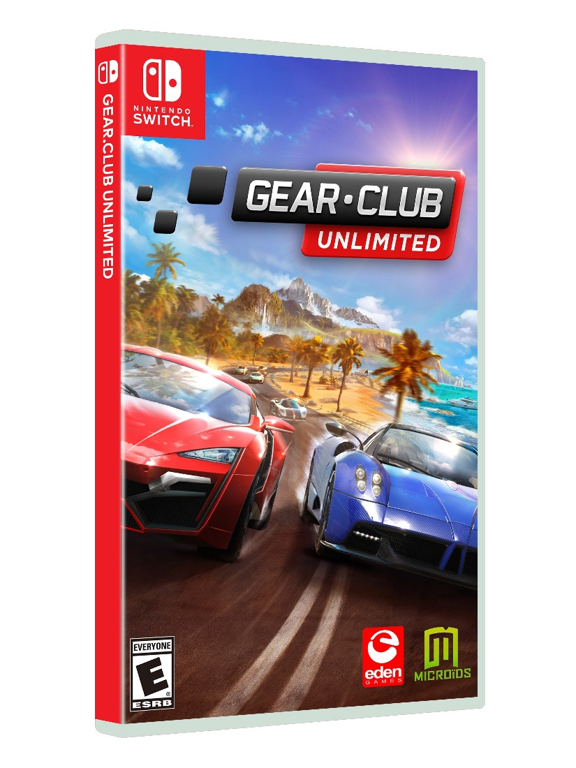 racing game gear club gets switch trailer release date and box art nintendotoday. Black Bedroom Furniture Sets. Home Design Ideas