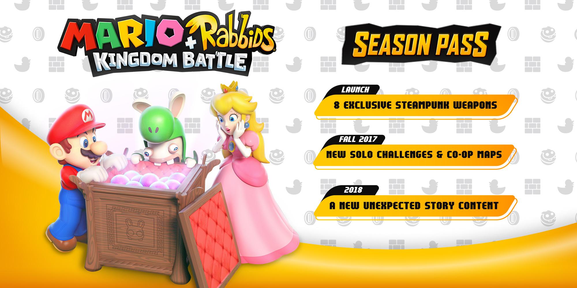 Mario + Rabbids Kingdom Battle getting Season Pass