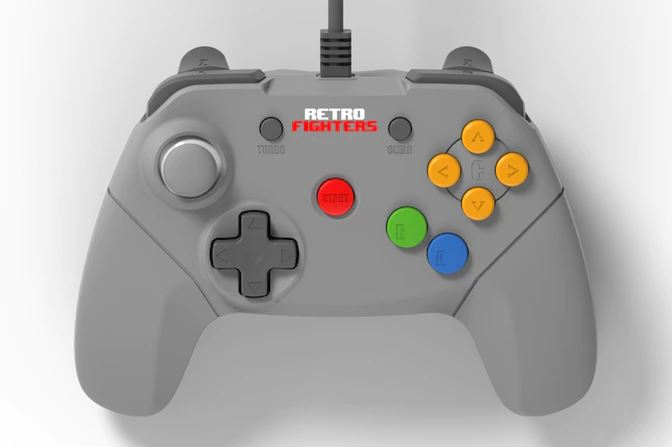 Someone made a modern N64 controller