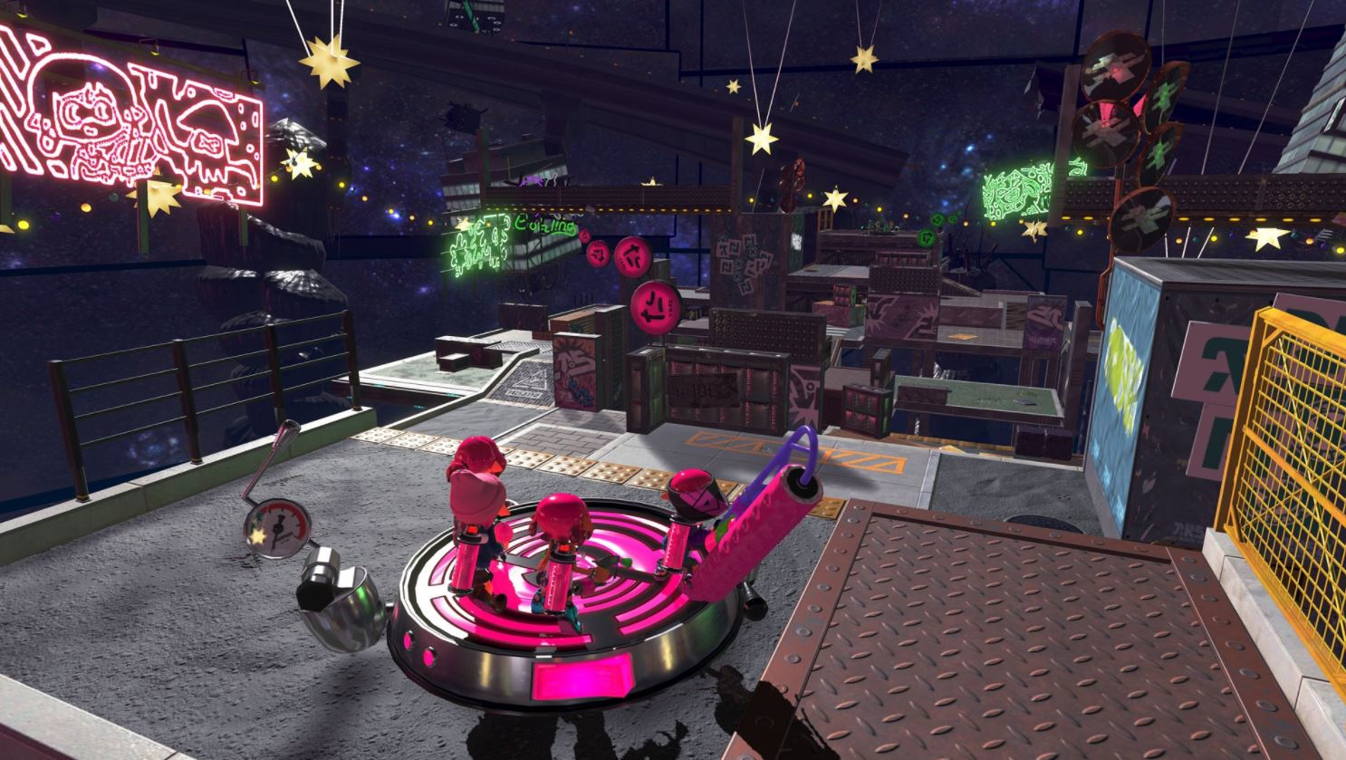 the upcoming splatoon 2 splatfest will introduce a new stage