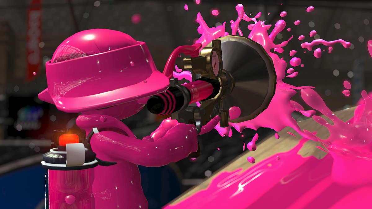 sploosh-3 Splatoon 2 gets a new weapon today