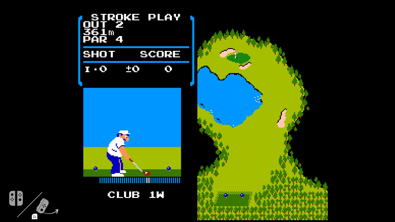 NES Golf Switch