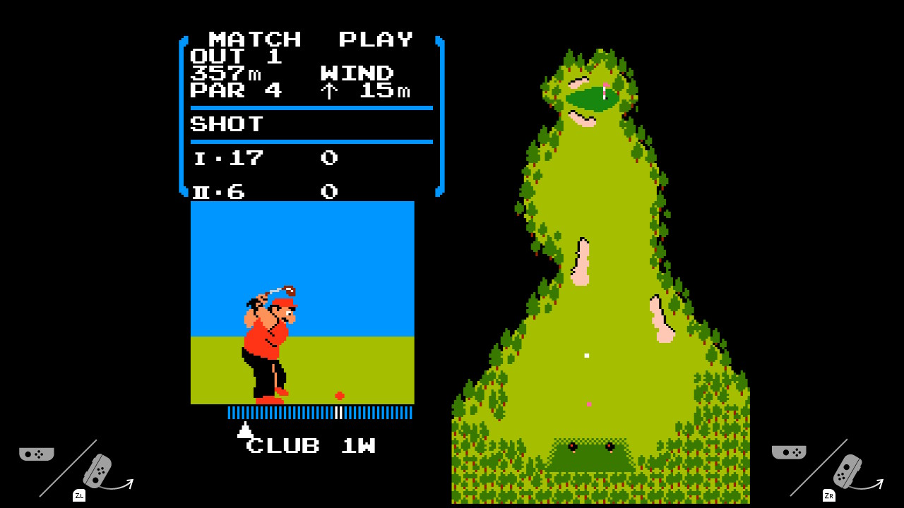 Nintendo Switch NES golf