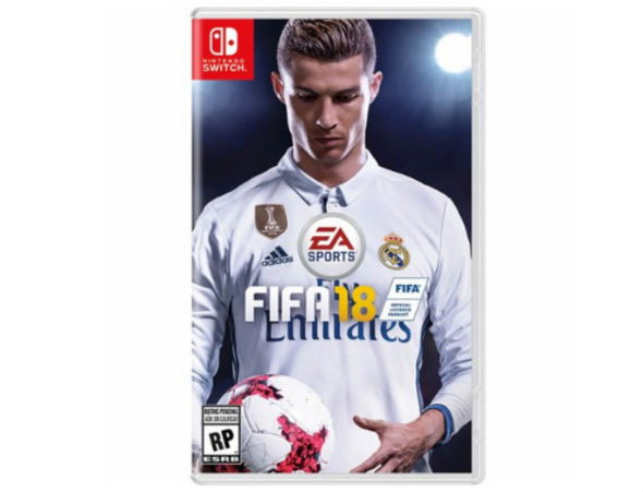 FIFA 18 gets updated Switch box art