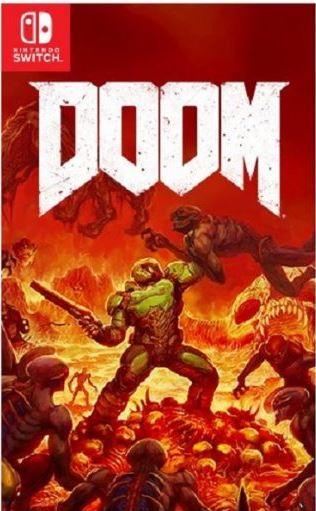 Doom Switch boxart