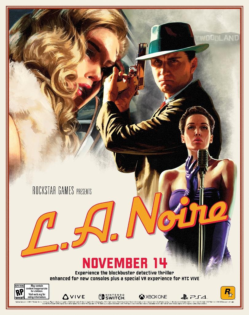 Rockstar is bringing LA Noire to Switch