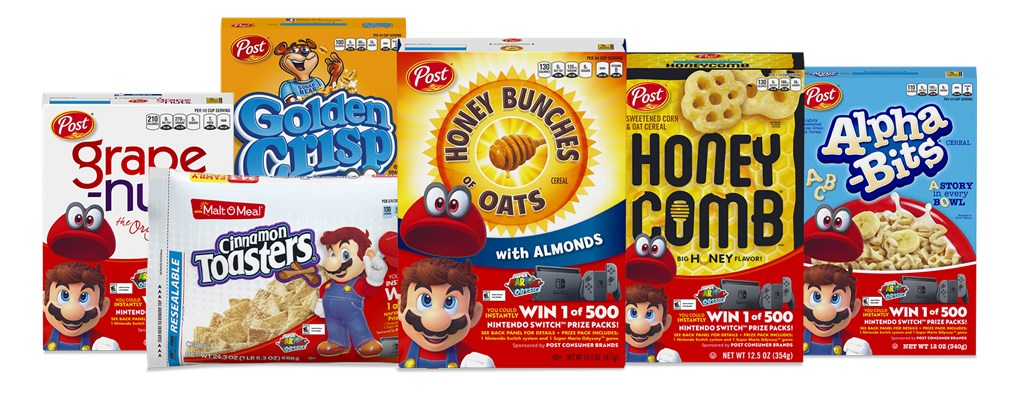 Soon you'll be able to buy Nintendo breakfast cereal
