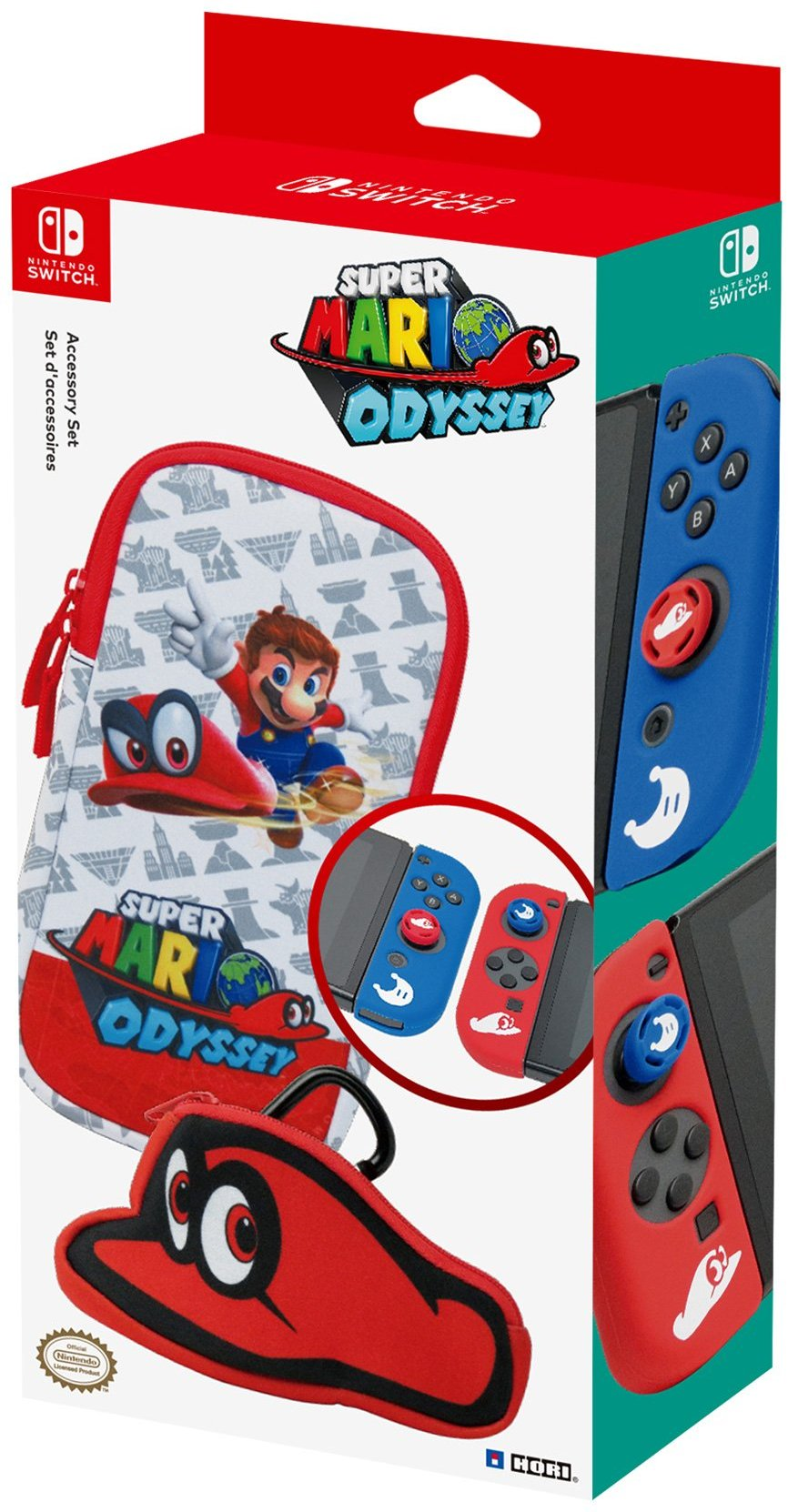 Mario Odyssey Switch accessories