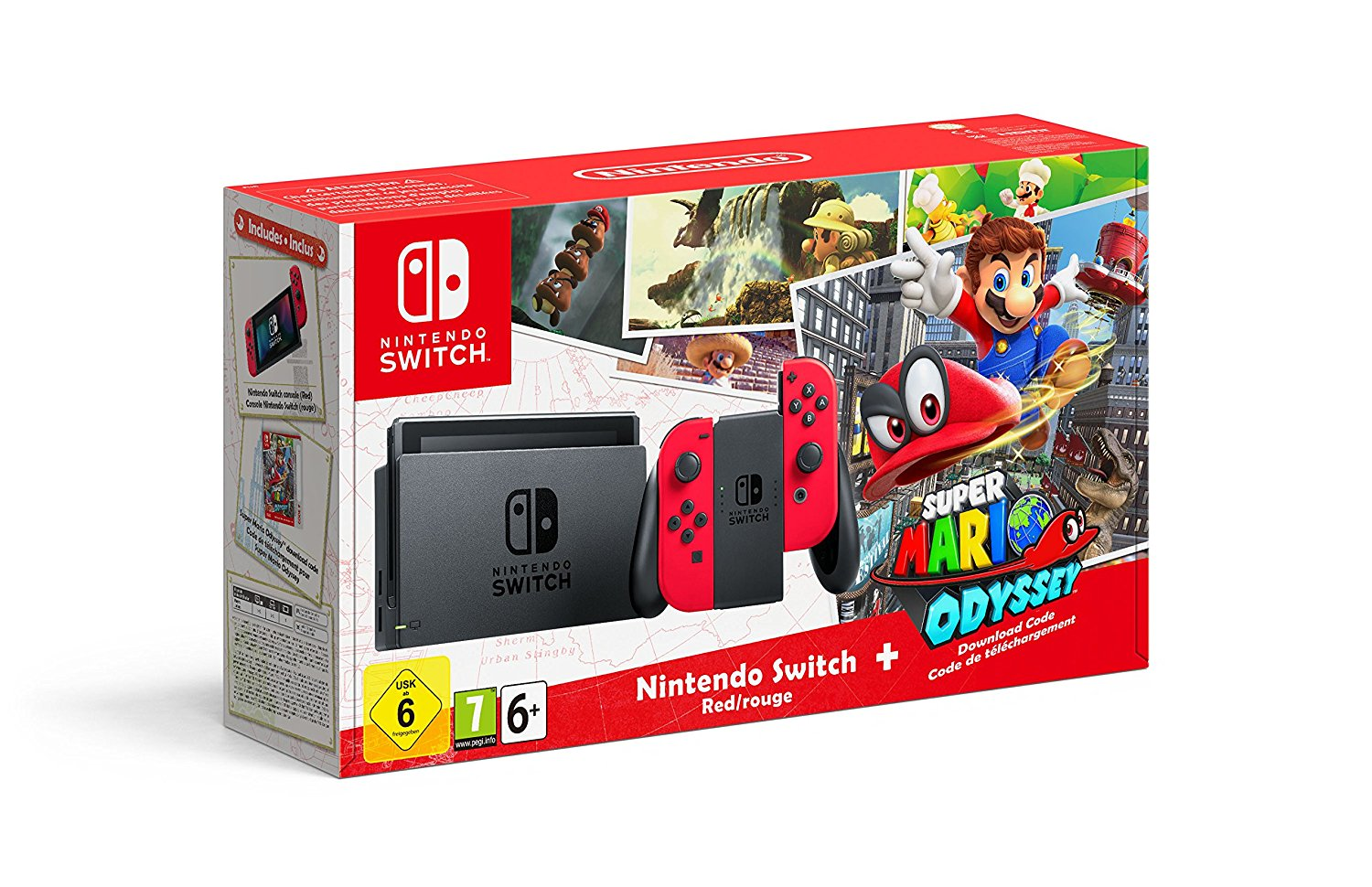 Unboxing the Super Mario Odyssey Switch bundle