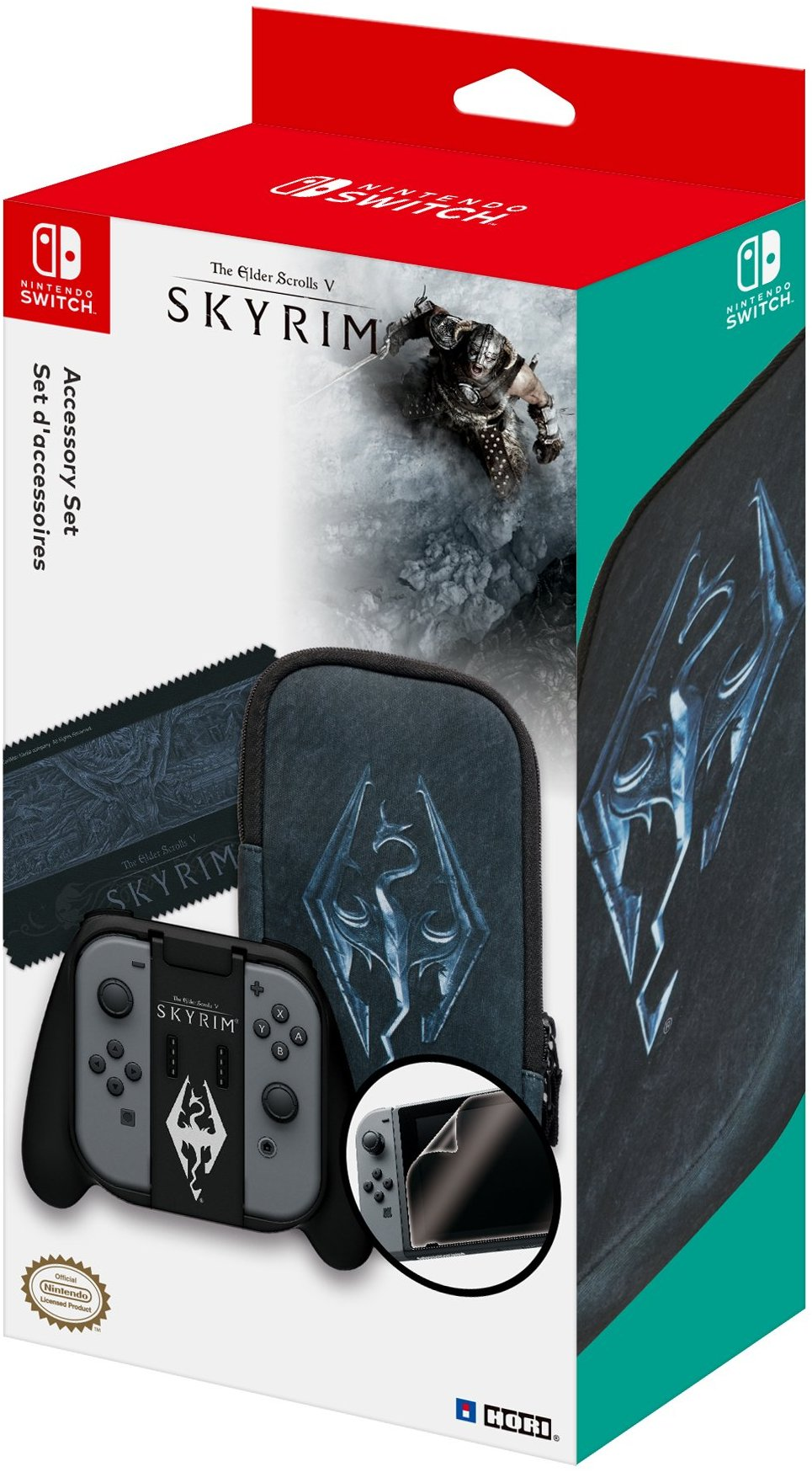 Switch is getting an official Skyrim accessory set