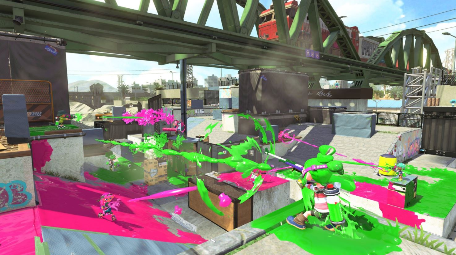 splatoon-2-stage2 New Splatoon 2 stage coming tomorrow