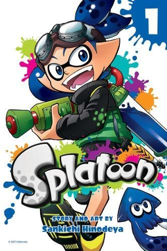 Splatoon comic book vol. 1 coming on Dec 12, pre-order for just $7