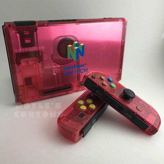 Check out these cool Switch N64 mods