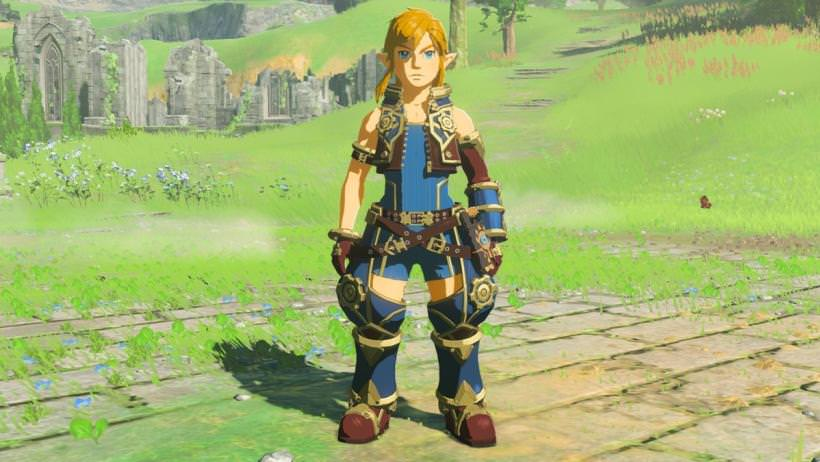 zelda botw updated with new side quest and amiibo support