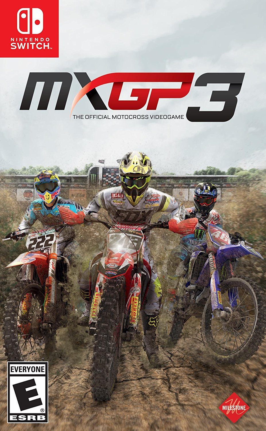 30 minutes of MXGP3 motocross racing footage on Switch