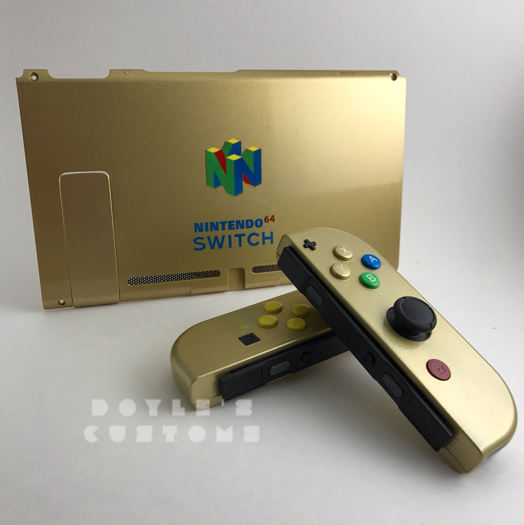 Check Out These Cool Switch N64 Mods Nintendotoday