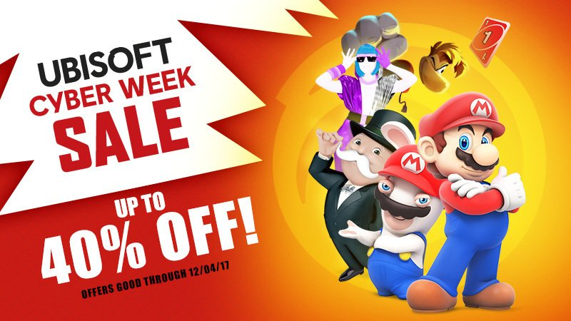 Ubisoft's games are on sale on Switch eShop