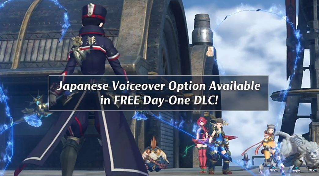 Xenoblade Chronicles 2 dual audio Switch