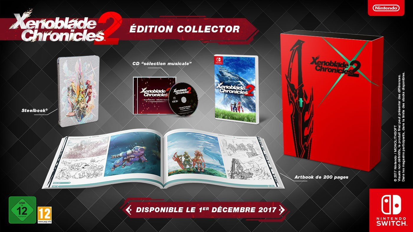 Xenoblade 2 Switch Collector's Edition