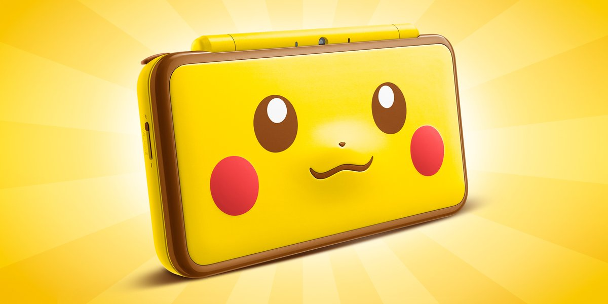 Adorable Pikachu-themed 2DS XL coming to Europe