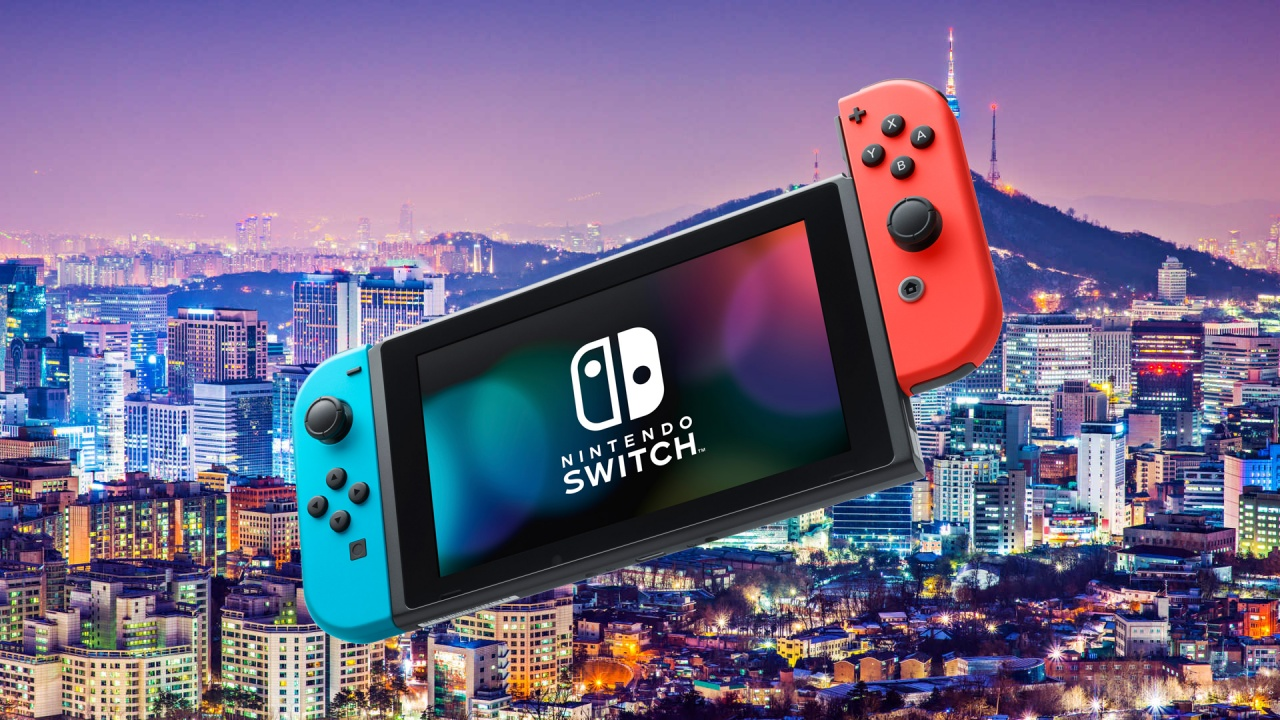 Switch launches in South Korea and of course it broke a record