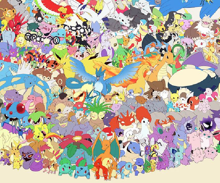 big pokemon poster