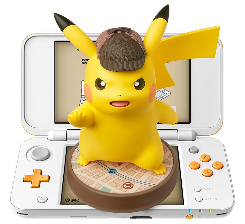 Here's how insanely big that new Pikachu Amiibo is