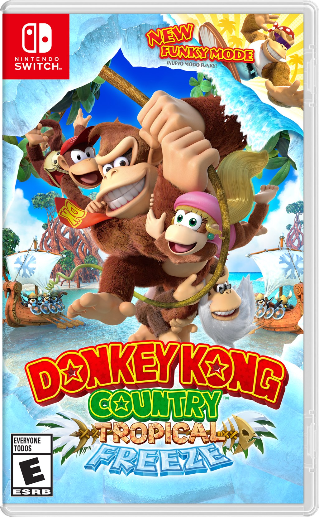 Donkey Kong Country: Tropical Freeze announced for Switch