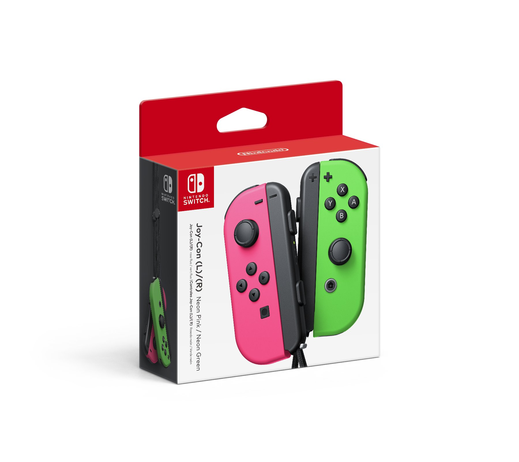 Confirmed: Pink and Green Neon Joy-Cons coming to the US