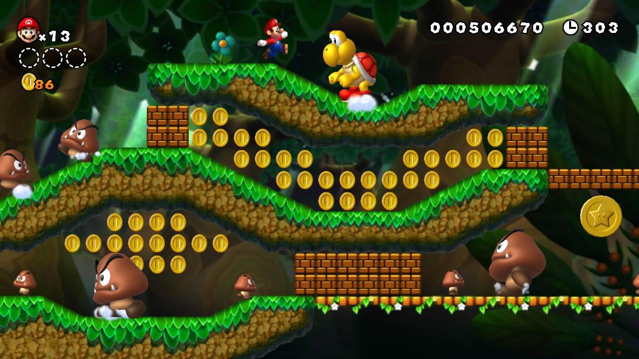 New Super Mario Bros U screenshots - NintendoToday