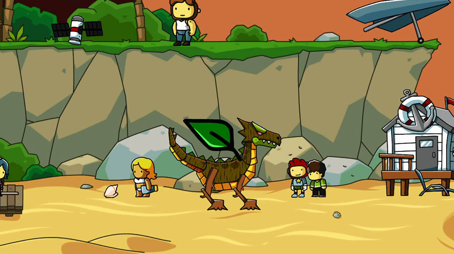 Image result for Scribblenauts Screenshot