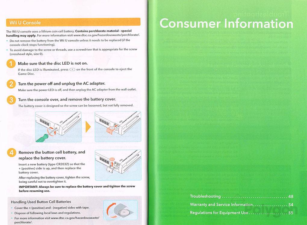 wii u instruction manual photos nintendotoday rh nintendotoday com Wii Online Manual Wii Instruction Manual