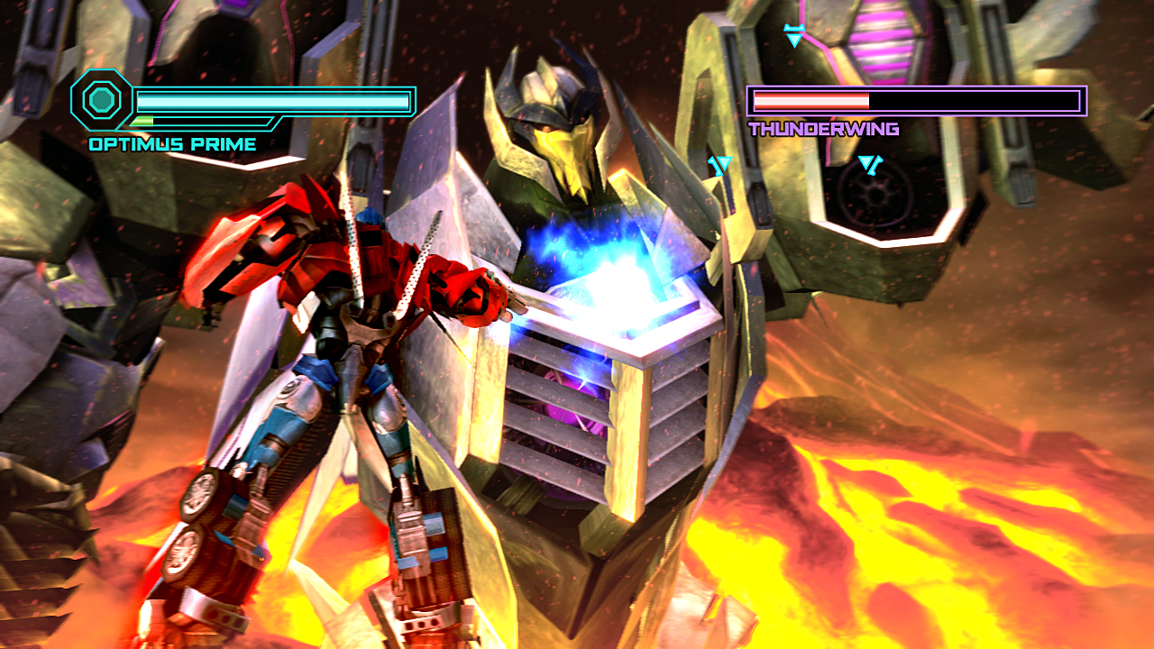transformers the game for wii