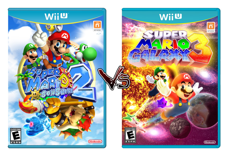 Mario Wii U Games : Super mario galaxy vs sunshine nintendotoday