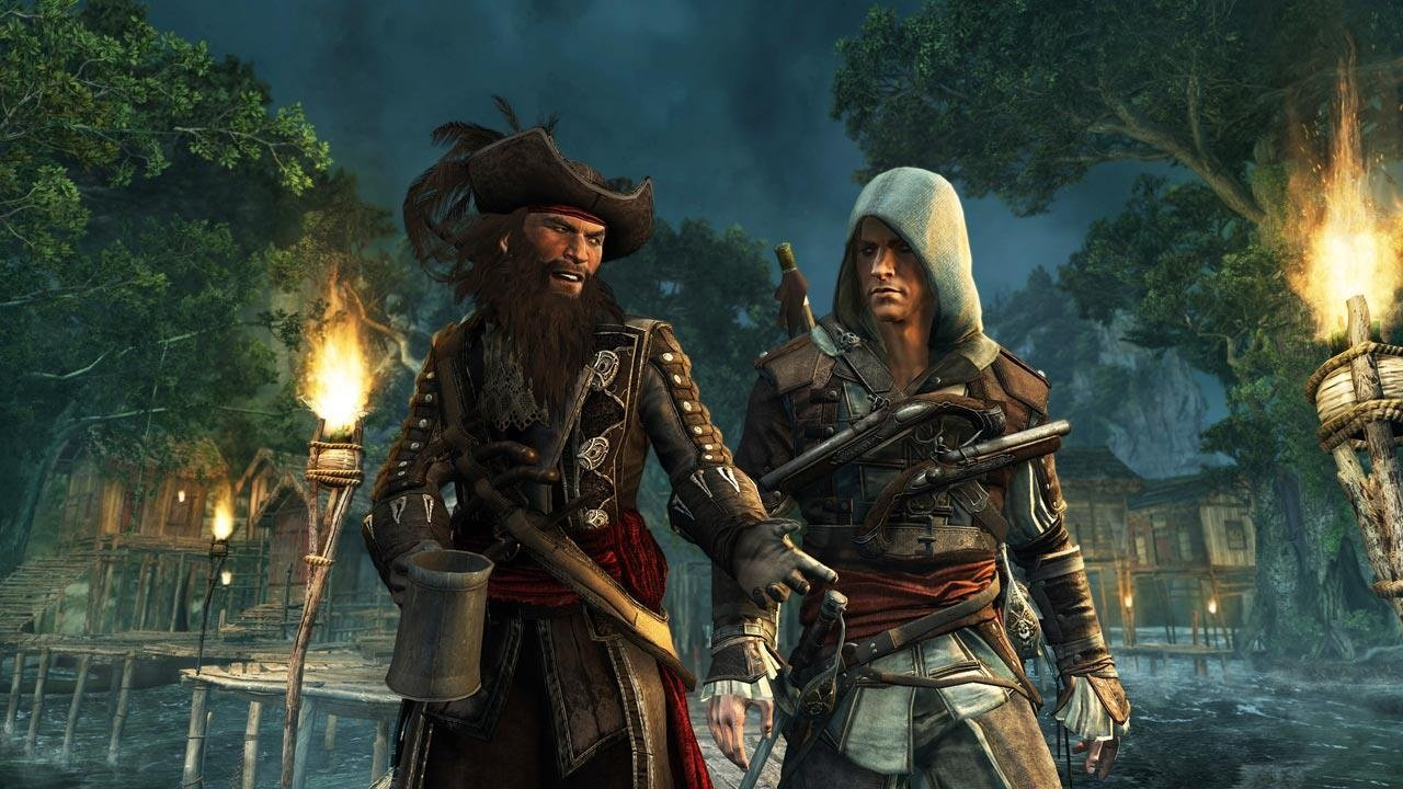 Here S A Video Comparison Of Assassin S Creed Iv On Ps4 Wii U