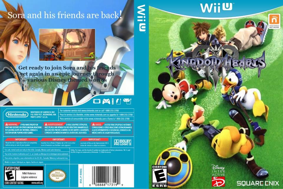 Should Kingdom Hearts 3 be released on Wii U? - NintendoToday
