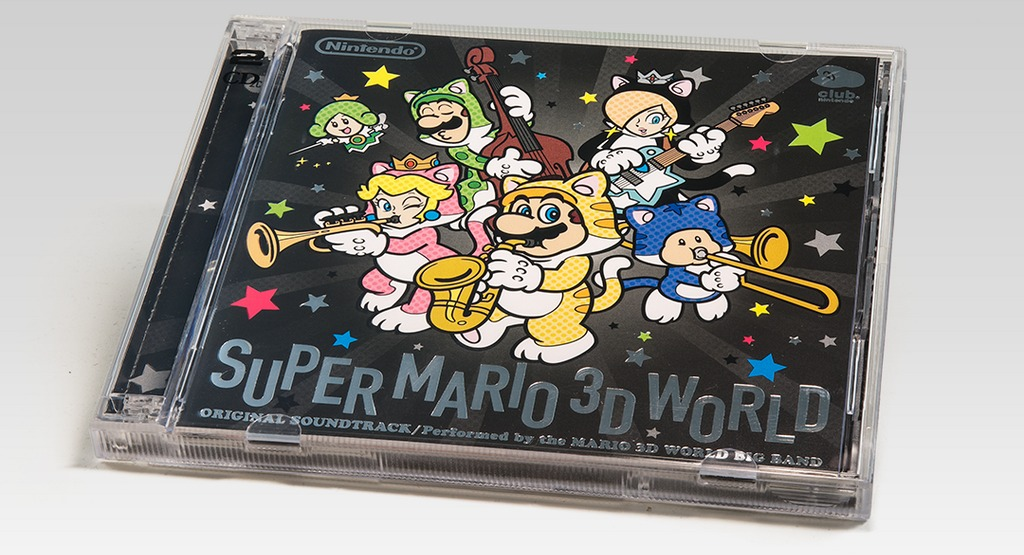 Super Mario 3D World soundtrack now available on Club