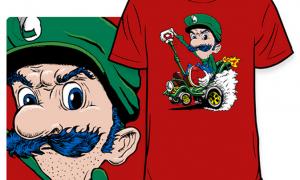 Luigi Death Stare Nintendotoday