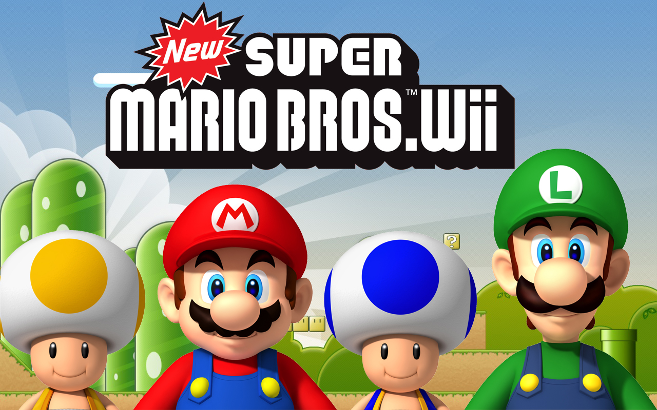 These guys created an online multiplayer mod for New Super