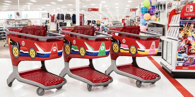 Target Rolls Out Big Mario Kart 8 Deluxe Promo Nintendotoday