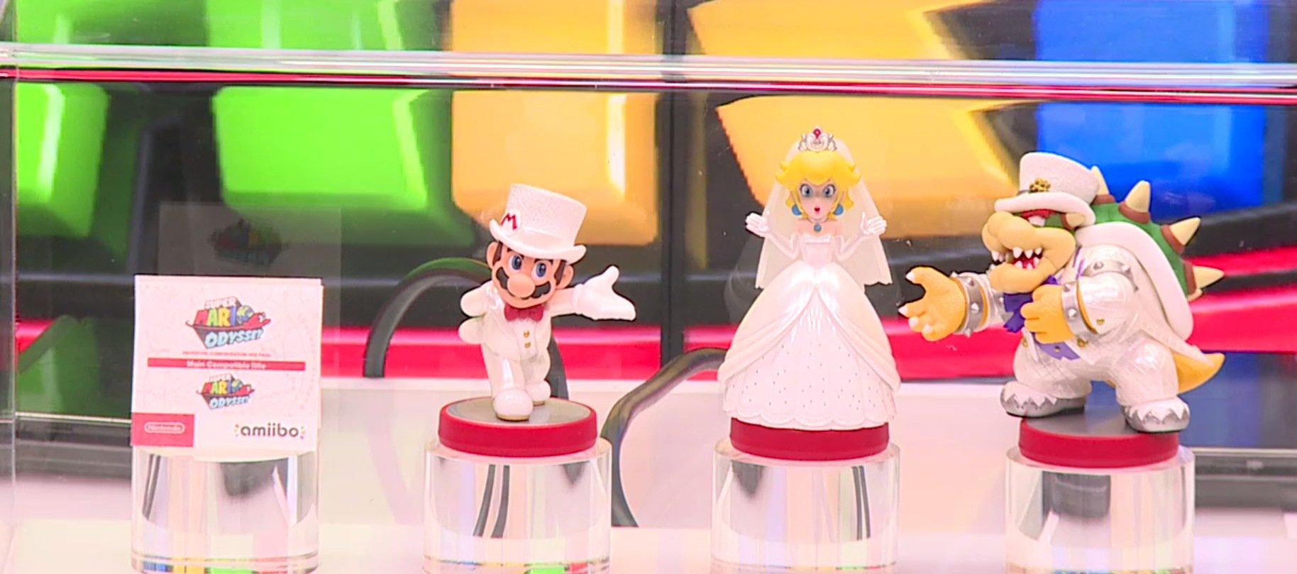 Super Mario Odyssey Amiibo Announced Nintendotoday