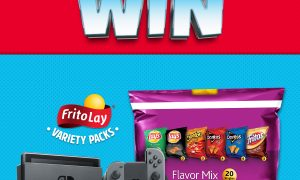 Frito Lay giving away a Switch every hour for six weeks